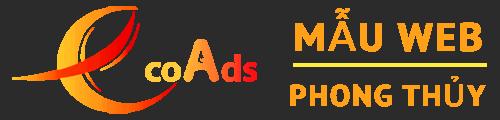 Mẫu web shop Phong thủy – EcoAds